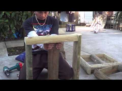 Growing dragon fruits part 2 - building frame for the plants