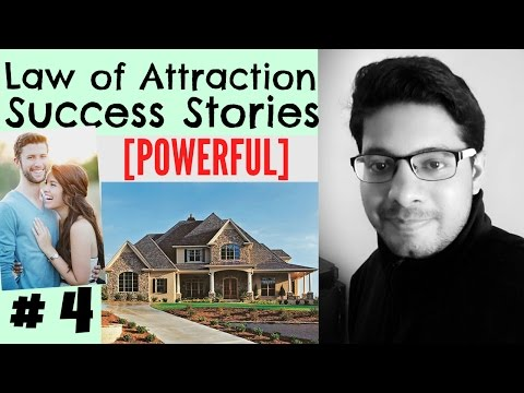 Law of Attraction Success Series # 4 - Dream House, Car Manifested, Job, Mobile Phone Found