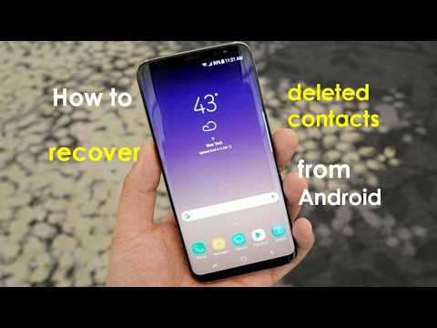How to Recover Deleted Contacts from Android Phone Memory