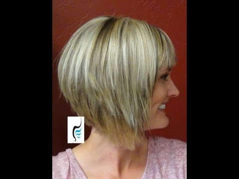 A-Line Hairstyles With (Short Haircuts and Bangs)