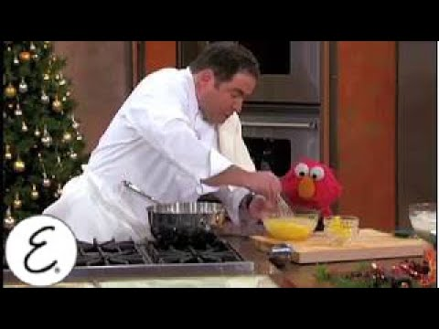 Kid-Friendly Eggnog Recipe with Elmo - Emeril Lagasse