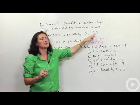 Divisibility - Prime Numbers - Brightstorm Pre-algebra
