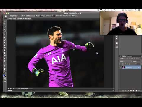 How to Make a Sports Edit with Photoshop and Topaz Labs World Football Artwork