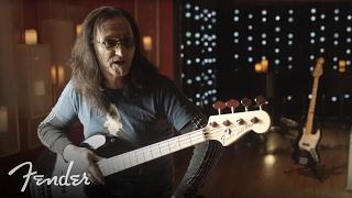 Rush's Geddy Lee on his Fender USA Geddy Lee Jazz Bass | Fender