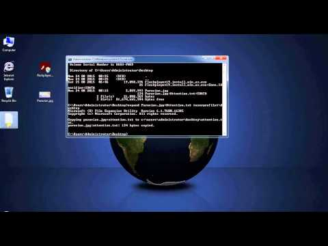 How to extract ADS Files with CMD