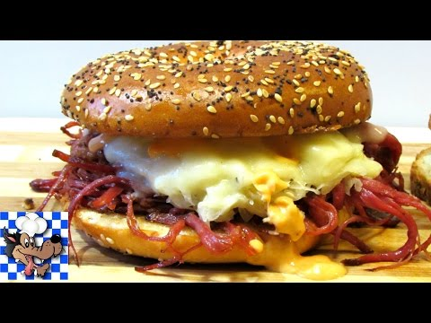 BEST EVER Reuben Sandwich - How to Make an EPIC Reuben!!