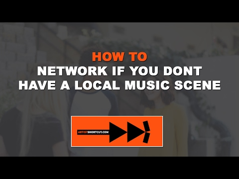How To Network & Build A Fanbase If You Don't Have A Local Music Scene