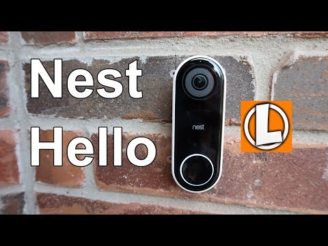 Nest Hello Video Doorbell Review - Unboxing, Setup, Features, Settings, Installation, Footage