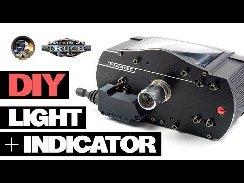 DIY TRUCK SIM LIGHT AND INDICATOR LEVER