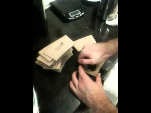 How to Stamp Coffee Sleeves