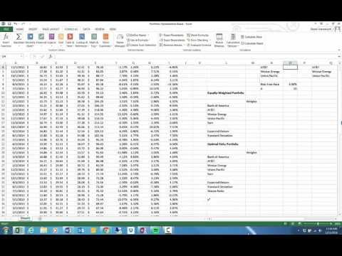 Portfolio Optimization