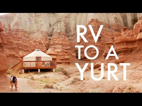 DITCHING THE RV FOR A YURT : RV Fulltime w/9 kids