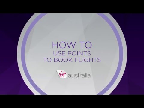 Velocity Frequent Flyer - How To Use Points To Book