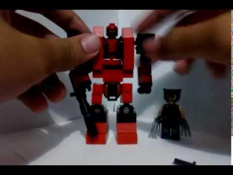 Lego Deadpool mini mech