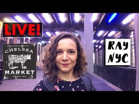 LIVE NYC: High Line Park e Chelsea Market!