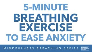 Breathing Exercise for Anxiety, Relaxation, and Stress Relief | 5 Minutes W/ Meditation Music