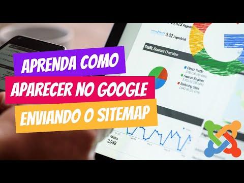 Criando e enviando Sitemap para Google no Joomla 3.x