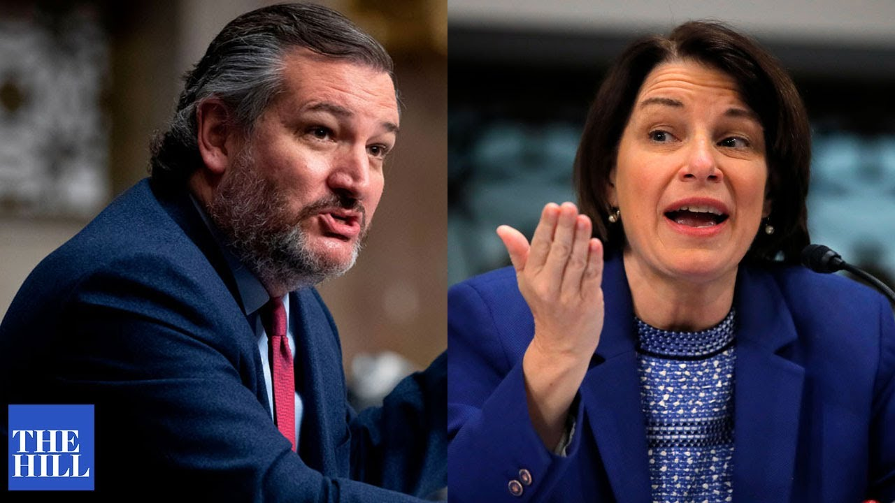 Ted Cruz CLASHES with Amy Klobuchar at Senate rules meeting