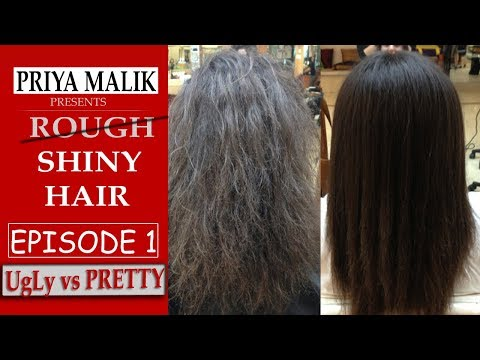 EPISODE 1 | Use 1 Ingredient Only To Get Shiny Hair Naturally | UGLY VS PRETTY With Priya