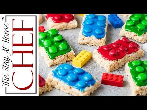 How to Make Lego Rice Krispie Treats