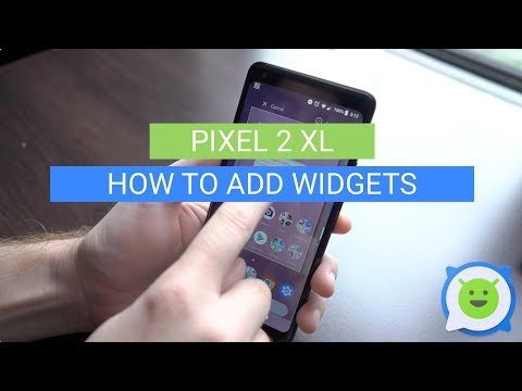 Pixel 2 XL: How To Add Widgets