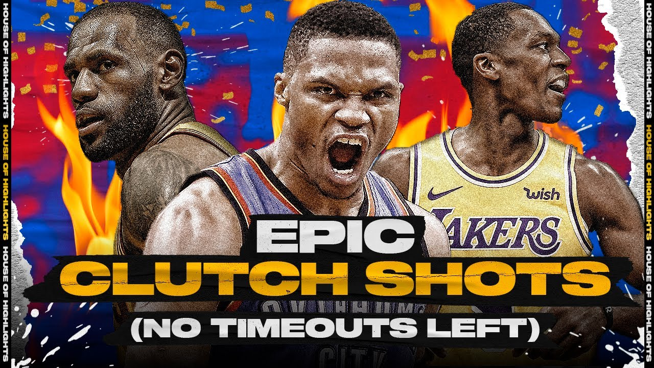 EPIC NBA Game-Winners & Clutch Shots When There's No Timeout Left!