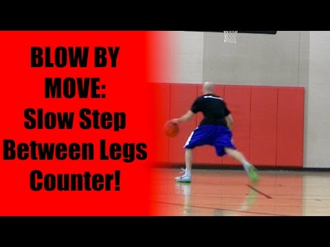 Basketball Moves: Slow Step Between The Legs Counter Moves | Best Crossovers