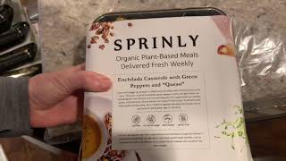 Sprinly Unboxing by MealFinds