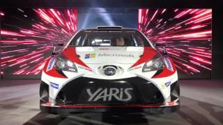 TOYOTA GAZOO Racing launched the Toyota Yaris WRC - Car Watch
