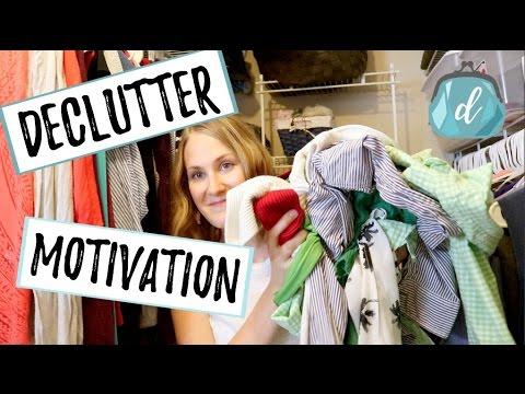 DECLUTTER MOTIVATION | Closet Organization Refresh Tips
