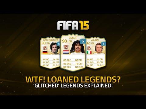 WTF? LOANED LEGENDS 'GLITCH' EXPLAINED! | FIFA 15 Ultimate Team