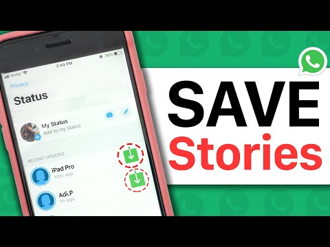 How to Save WhatsApp Status/Stories (Video/GIF/Picture) to Gallery