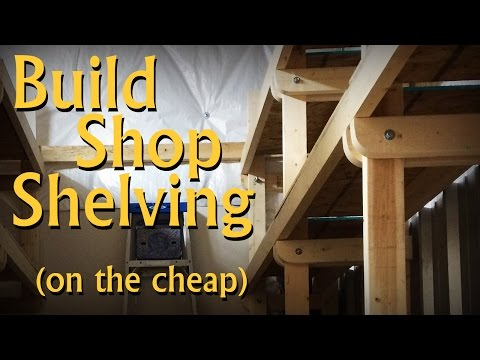 Design and Build Shelving (On the Cheap)