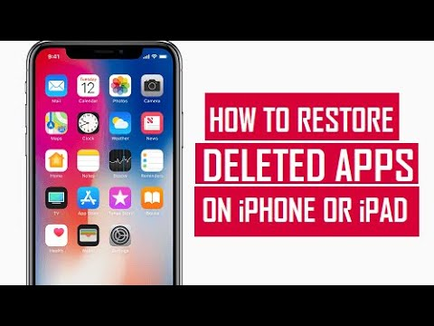 Get Back Deleted Apps on Your iPhone
