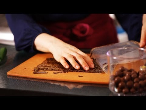 How to Use Chocolate Decorations | Cake Decorating