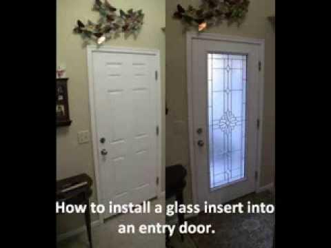 Entry Glass Insert