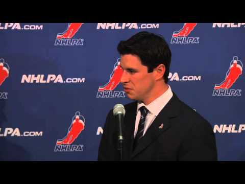 NHL Network - Sidney Crosby CBA Meeting 10/18