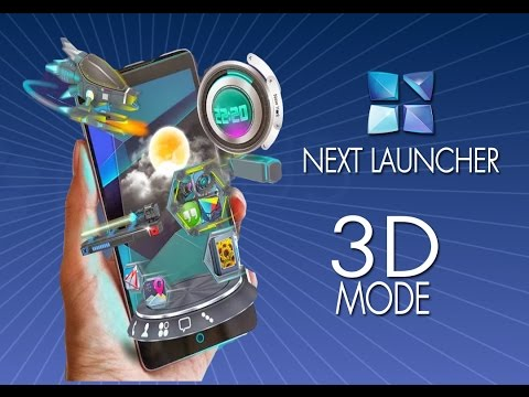 Android Appaholics ~ Next Launcher 3D Mode