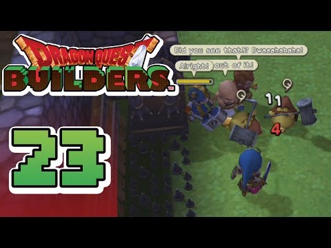 Dragon Quest Builders :: Ep 23 - Enemy Onslaught!!!
