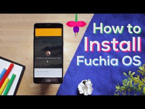Install Google's NEW Fuchsia OS on any Android phone