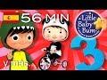 Download El número 3 | Y muchas más canciones infantiles | ¡56 minutos de recopilación LittleBabyBum! MP3,3GP,MP4