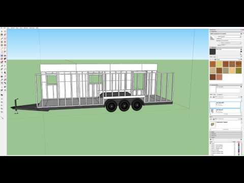 Part 4 of Designing a Tiny House in Sketchup