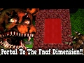 Minecraft How To Make A Portal To The Five Nights at Freddy's Dimension - Fnaf Dimension Showcase!!!