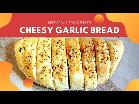 Garlic Bread Recipe, How To Make Garlic Bread, Homemade Garlic Bread Recipe, Dominos Garlic Bread