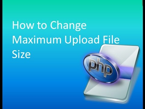 How to change maximum upload file size for php on Cpanel