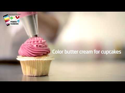 How to color butter cream icing