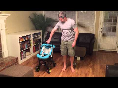 Doona, the mind blowing transforming car seat / stroller