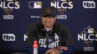 NLCS Gm5: Roberts on advancing to the World Series