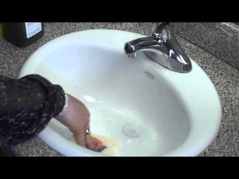 Marble Basin Cleaning : House Cleaning Tips