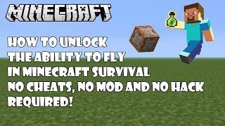 fly cheat minecraft